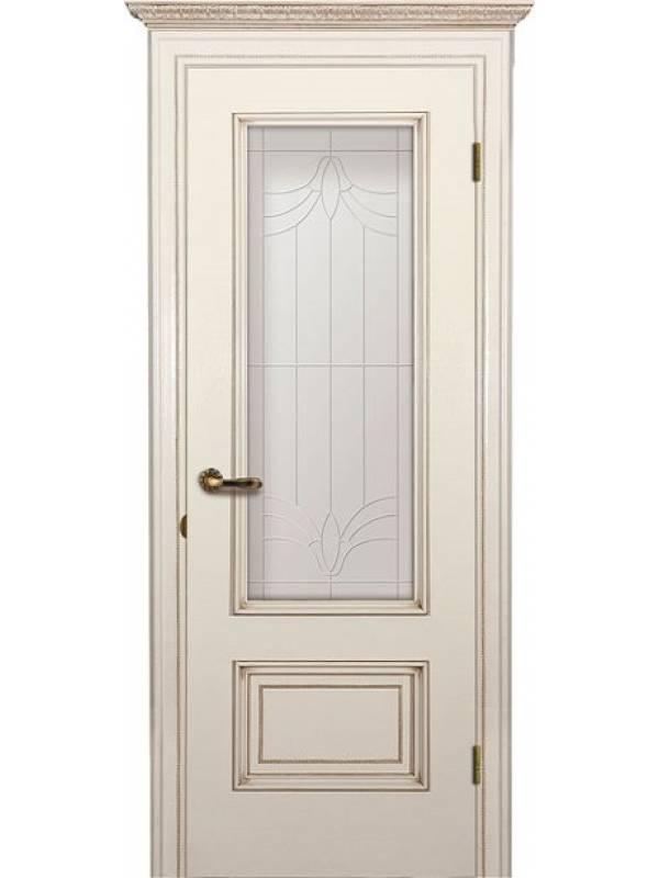 Йорк зі склом - Міжкімнатні двері, Шпоновані двері