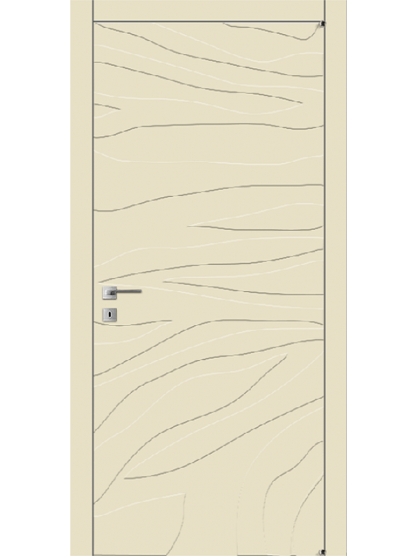 A11.F - Міжкімнатні двері, Пофарбовані двері