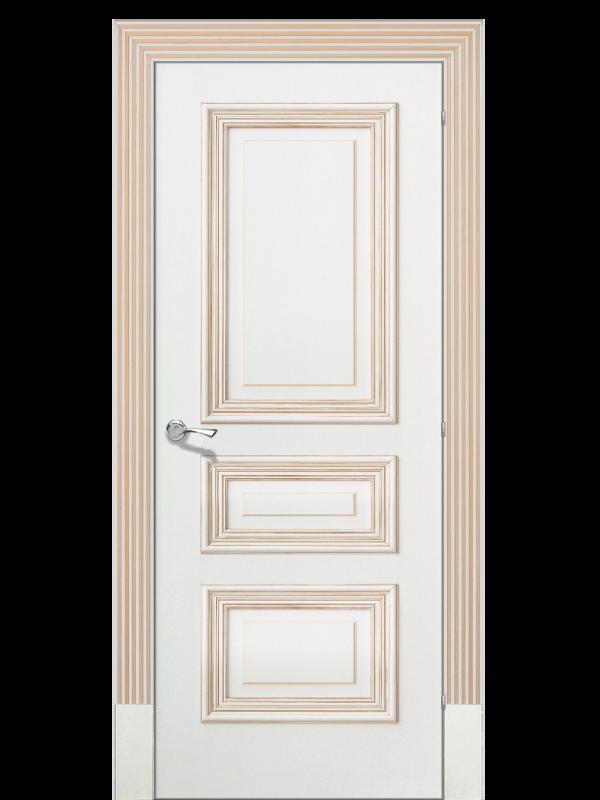 Дожу 1 - Міжкімнатні двері, Пофарбовані двері