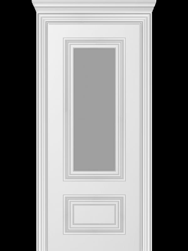 Мадрид ПО - Міжкімнатні двері, Білі двері