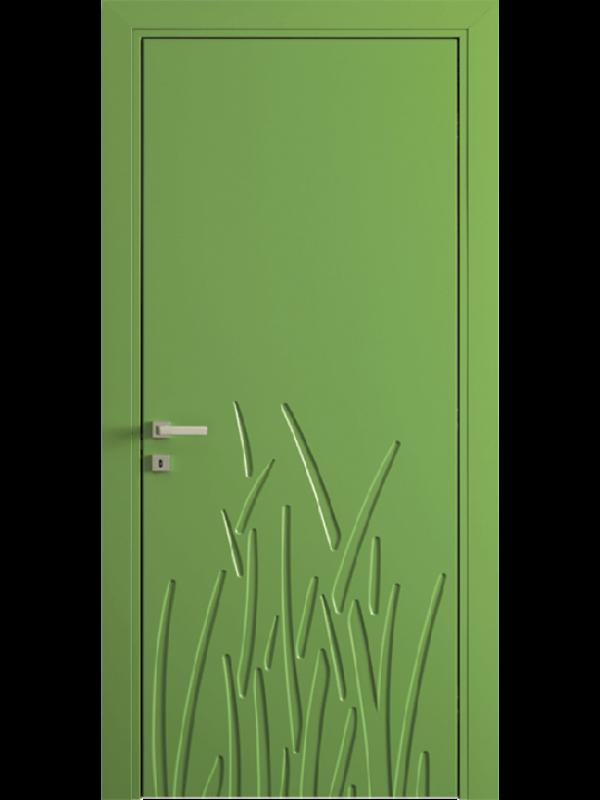 FL13 - Міжкімнатні двері, Пофарбовані двері