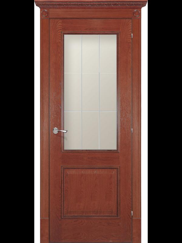 Версаль зі склом - Міжкімнатні двері, Шпоновані двері