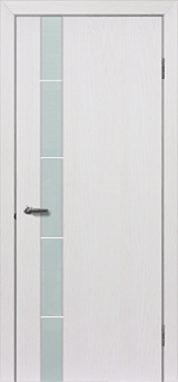 Глазго 1 з молдингом - Міжкімнатні двері, Шпоновані двері