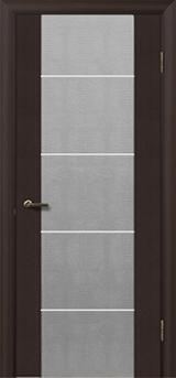 Глазго з молдингом - Міжкімнатні двері, Шпоновані двері