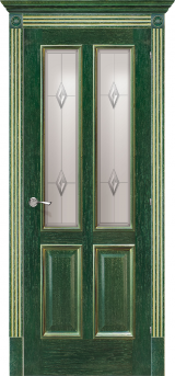 Плімут зі склом - Міжкімнатні двері