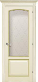Верона де Канті зі склом - Міжкімнатні двері, Шпоновані двері