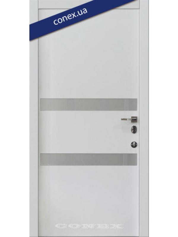 Модель 73. МДФ. Супермат (вставки стекло)