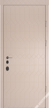 Антрацит 3D Престиж - Входные двери, Входные двери в квартиру